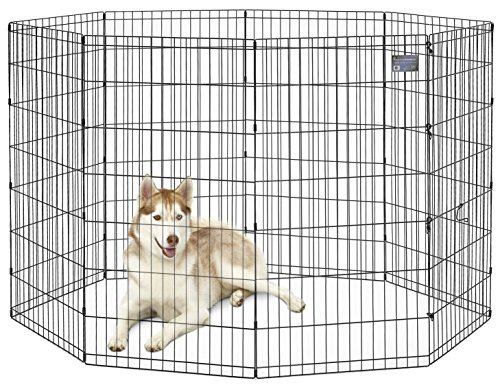 Artikelbild: Midwest Homes for Pets MidWest-Zwinger, 121,92cm, Schwarz