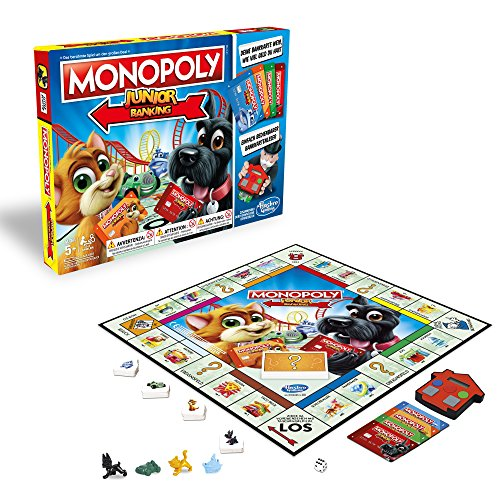 Hasbro Gaming E1842100 - Monopoly Junior Banking Kinderspiel
