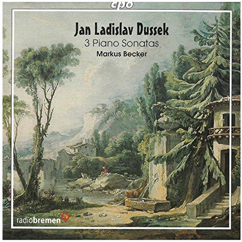 Dussek: 3 Piano Sonatas
