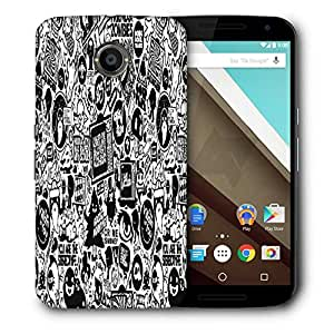 Snoogg Television Designer Protective Phone Back Case Cover For Motorola Nexus 6