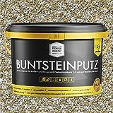 Buntsteinputz creme/weiss 20kg