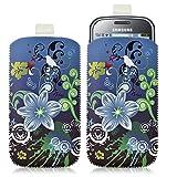 Housse coque étui pochette pour Samsung Chat 335 S3350 avec motif HF09