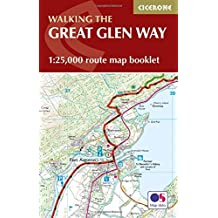 The Great Glen Way Map Booklet: 1:25,000 OS Route Mapping (Cicerone Guide)