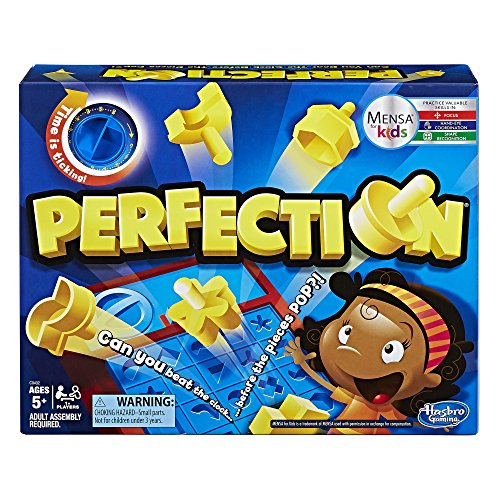 Hasbro Perfection Game Toy Figures & Playsets at amazon