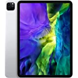 """Apple iPad Pro 11"""" (2020 - 2nd Gen), Wi-Fi + Cellular, 512GB, Silver, Middle East Version"""