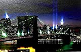 Tinas Collection LED Bild mit dem Motiv -Brooklyn Bridge New York-, 40 x 60 cm