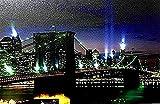 Tinas Collection LED Bild mit dem Motiv -Brooklyn Bridge New York-, 40 x 60 cm