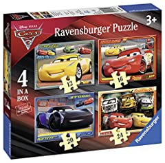Idea Regalo - Ravensburger Italy Puzzle in a Box Cars 3, 06894 4