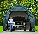 ShelterLogic Foliengarage Garage in-a-Box 23,8m² grün // 390x610 cm (BxT) // Foliengarage, Garage und Foliengerätehaus