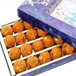 Ghasitaram Gifts Diwali Gifts Sweets Ghasitarams Special Besan Laddoo (200 gms)