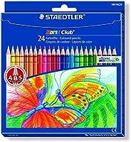 STAEDTLER Buntstifte Noris Club Set 24 Farben - brillante Farben, leicht zu spitzen; Etui - 144 NC24
