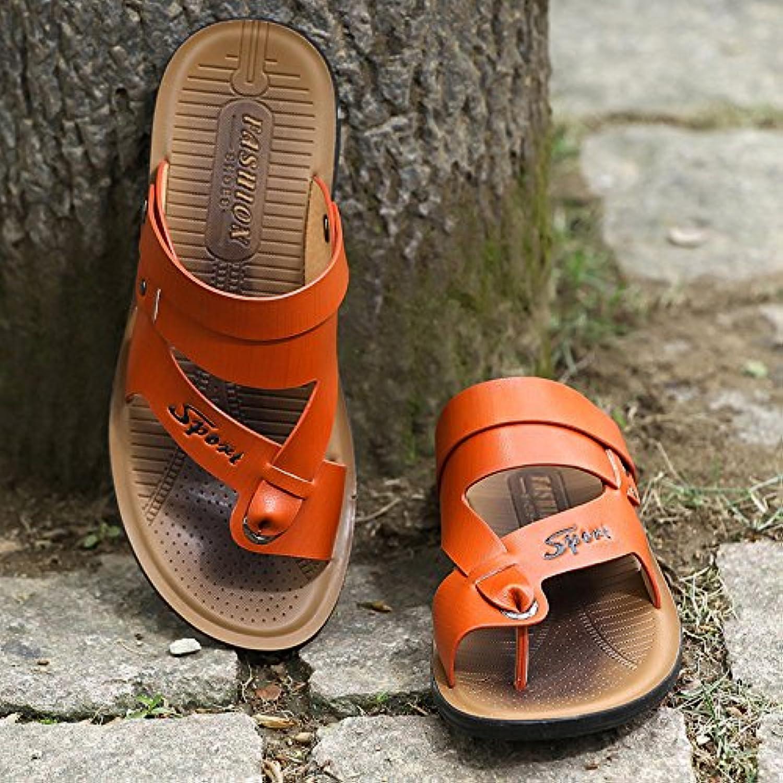 ZHANGJIA Nuevo Hombre De Sandalias, Calzado De Playa, Frío, Zapatos, Zapatillas, Ropa Casual Coreano,39,Color