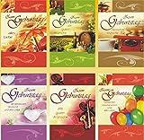 50 Geburtstagskarten Herz Grußkarten Glückwunschkarten Geburtstag 511-7711