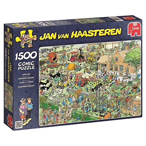 Jumbo - Puzzle The Farm, 1500 Piezas (617077)