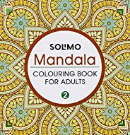 Amazon Brand - Solimo Mandala Colouring Book for Adults 2