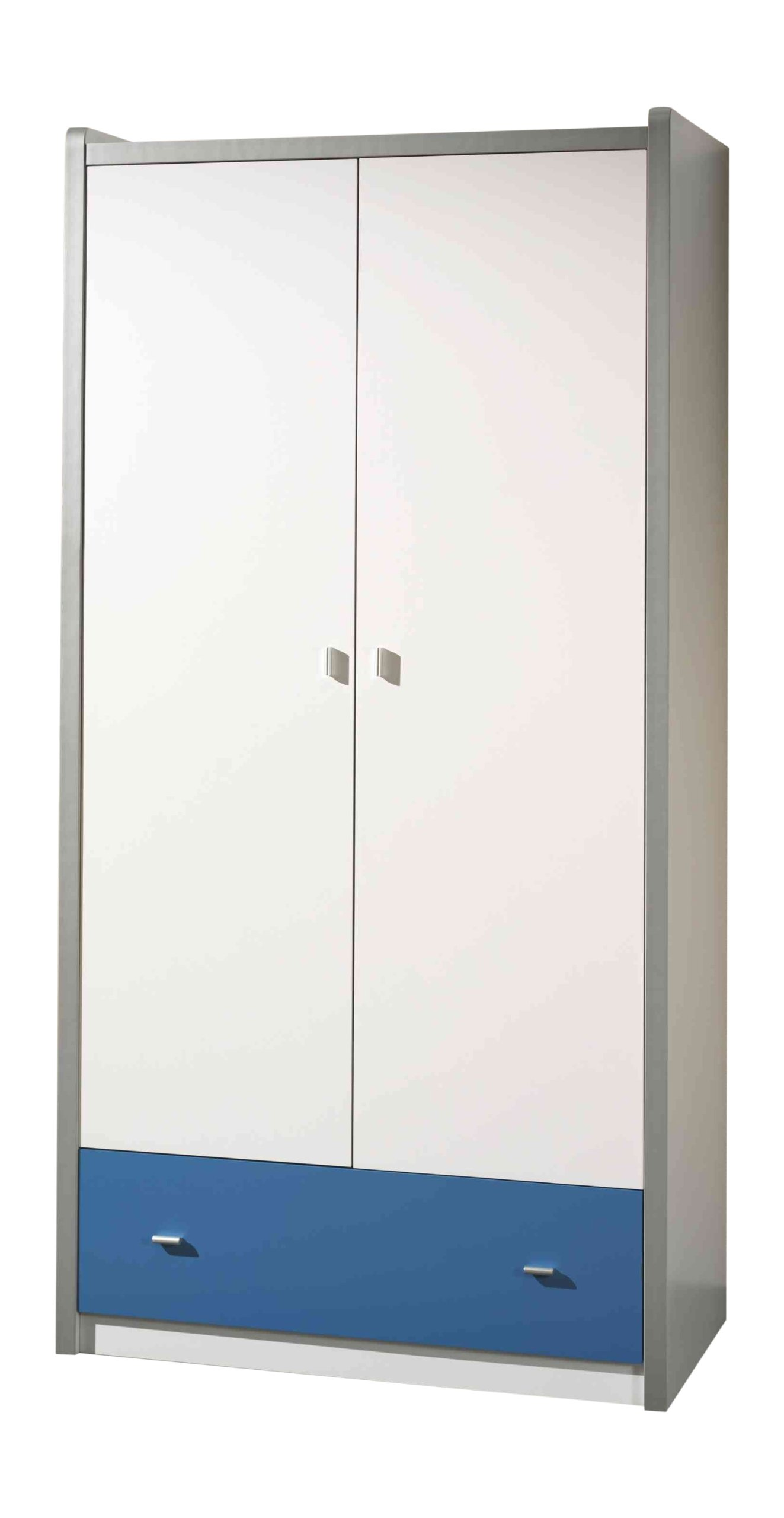 Vipack Bunk bokl2207Bonny/MDF Cabinet with 2Doors Particle Board Blue 201X 110X 59cm Vipack Bonny Collection Manufacturer's warranty: 1year (S) Material: MDF/Particle Board 1