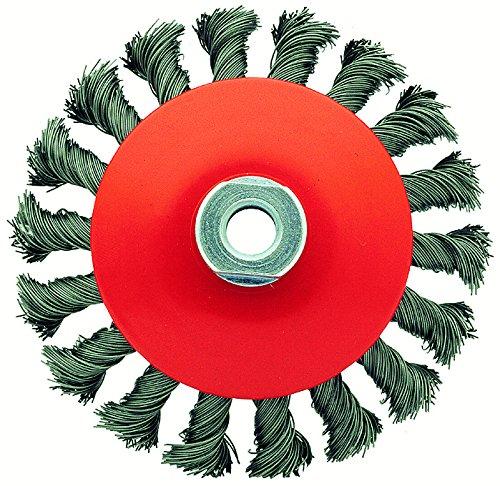 Bellota 50817-1001 Brosse industrielle conique Acier fil tressé 100 mm