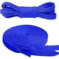 Canwn Flache Schnürsenkel, [3 Paar] Reißfest Ersatz Schuhbänder 100% Polyester 8 mm breit Schnürsenkel für Sportschuhe…