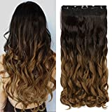 Neverland Clip in Hair Extensions Ombre