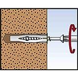 Multi-Dowel FU verspreidt zich in vaste bouwmaterialen zoals beton en cellenbeton, bij geperforeerde en plaatbouwmaterialen k