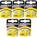 Duracell Alkaline-Batterien LR44 A76, 1,5V, 10Stück Design 1