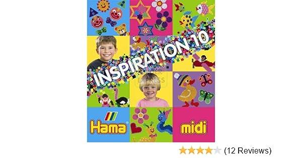 Hama 399/10 - Original Bügelperlen Vorlagenheft Inspiration 10 ...