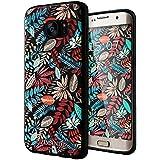 Galaxy S7 Edge Coque,Lizimandu 3D Motif Tpu Silicone Gel Étui Housse Protection Shell Cover Case Pour Samsung Galaxy S7 Edge(Les Feuilles D'érable/Maple Leaves)