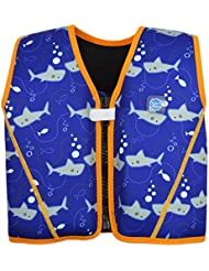 24a0090f6f0c Splash About Go Splash Chaleco Flotador, Unisex bebé, Shark OrangeRequin,  1-3
