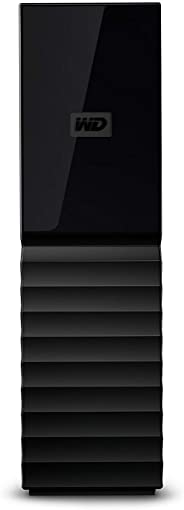 WD My Book 8 TB Desktop Hard Drive - Black