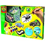SES Glow in The Dark Scary Animals Casting and Painting