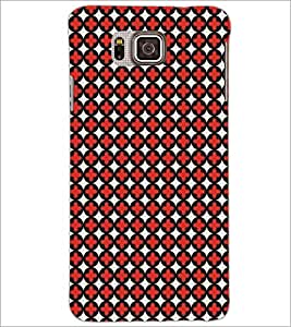 PrintDhaba Pattern D-5481 Back Case Cover for SAMSUNG GALAXY ALPHA (Multi-Coloured)