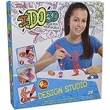 Ido 3D - Set 4 bolígrafos 3D con accesorios (Giochi Preziosi 55206)