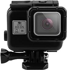 ereach GoPro Hero wasserdichtes Gehäuse, 40m Unterwasser Tauchen Surfen Skeleton Schutz Gehäuse Fall für GoPro Hero 5(Hero5schwarz) Action Kamera