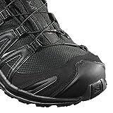 Salomon Herren XA Pro 3D GTX Trailrunning-Schuhe, Schwarz (Black/Black/Magnet), Gr. 45 1/3 - 7