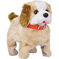 BASICS 21 Battery Operated Fantastic Puppy, Jumping Dog with Back Flip Feature Fun Toy for Boys and Girls (2+ yr) (Brown…