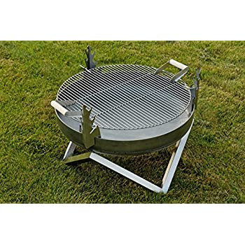 Brasero en acier et barbecue Yanartas - Design Contemporain: Amazon ...