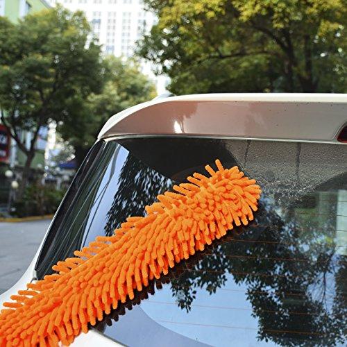 DEDC-Auto-Parabrezza-Cleaner-Spazzola-Pulizia-Auto-Conciatori-Auto-con-Manico-Conciatori-Lavabile-per-Auto-Arancione