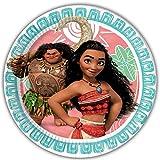 Kit anniversaire Disney Vaiana Complet 16 enfants (16 assiettes, 16 gobelets, 20 serviettes, 1 nappe) fête