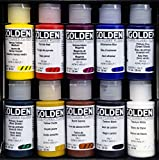 GOLDEN Principal 10 Professional Fluid Acrylic Set # 905