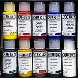 GOLDEN Principal 10 Professional Fluid Acrylic Set # 905