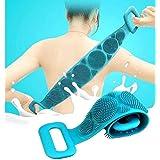 DIIIBARLORY Silicone Bath Body Brush, Exfoliating Long Silicone Body Back Scrubber, Bath & Body Brushes, Shower Brush…