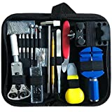 HYCKee 147 PCS Watch Repair Kit, Professional Watchmaker Tool Kit Watch Back Case