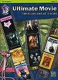 Ultimate Movie Instrumental Solos: Alto Sax, Level 2-3 + CD