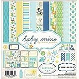 Echo Park papier Carta Bella Collection Kit de 30,5cm x 30,5cm,/mine pour bébé garçon