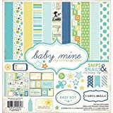 Echo Park Paper Carta Bella Collection Kit 12 Zoll x 12 Zoll, Baby Mine/Boy
