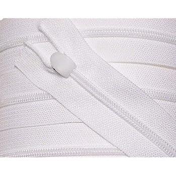 Reißverschluß Für Bettwäsche Kunststoff Nicht Teilbar 135 Cm Weiß