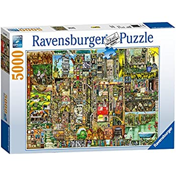 Views of modern rome 5000 piece puzzle ravensburger for Custom 5000 piece puzzle
