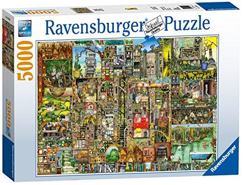 Ravensburger Puzzle 17430 – Skurrile Stadt, 5000-Teilig