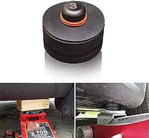 Yiwann Universal Gummiwagen Pad Reparatur Schlitz Rahmenschiene Bodenwagenschutz Rahmenschiene Schutz Für Wagenheber Auto Reparatur Ist Ein Guter Helfer Baumarkt