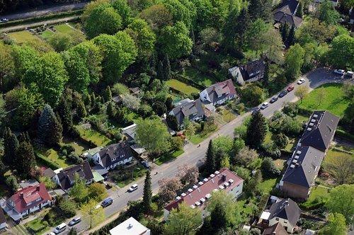 MF Matthias Friedel - Luftbildfotografie Luftbild von Stübeheide in Ohlsdorf (Hamburg), aufgenommen am 04.05.08 um 15:48 Uhr, Bildnummer: 4953-05, Auflösung: 4288x2848px = 12MP - Fotoabzug 50x75cm